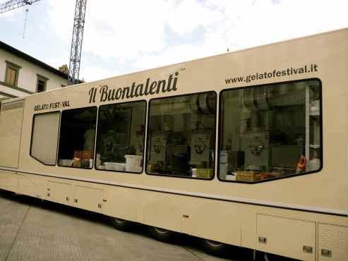 Gelato Factory Van