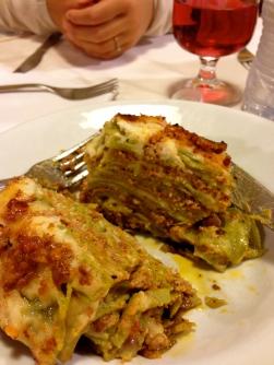 Lasagna at Ermes